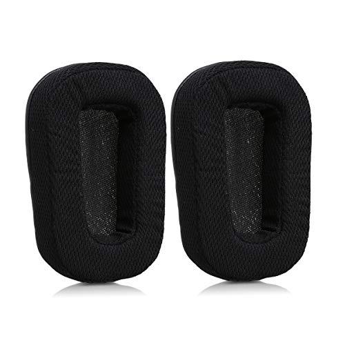 Kwmobile 2X Almohadillas Auriculares Compatible Logitech