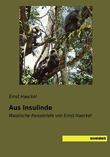 Aus Insulinde: Malaiische Reisebriefe von Ernst Haeckel
