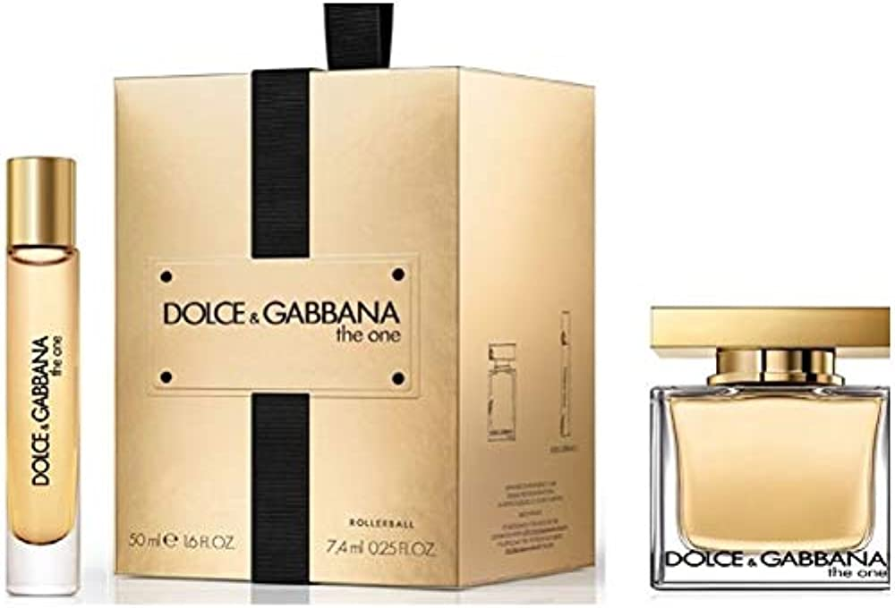 Dolce & gabbana the one - cofanetto eau de parfum donna edp 50 ml + 7 ml vapo 3423478410251