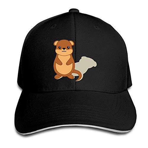 HomePink Groundhog Men & Women Trucker Hat Gorra de béisbol