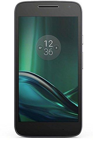 "Motorola Moto G4 Play - Smartphone libre Android (4G, 5"", Dual SIM, cámara de 8 MP, 2 GB de RAM, memoria interna de 16 GB ), color negro"
