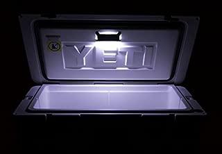 led ice chest