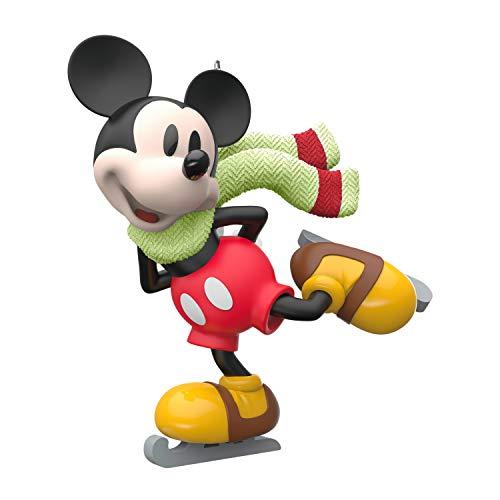 Hallmark Keepsake Christmas Ornament 2020, Mini Disney Mickey Mouse on Ice, 1'