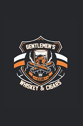 Gentlemans Whiskey and Cigar Logbook: 6x9 Notebook Logbook Cigar Logs