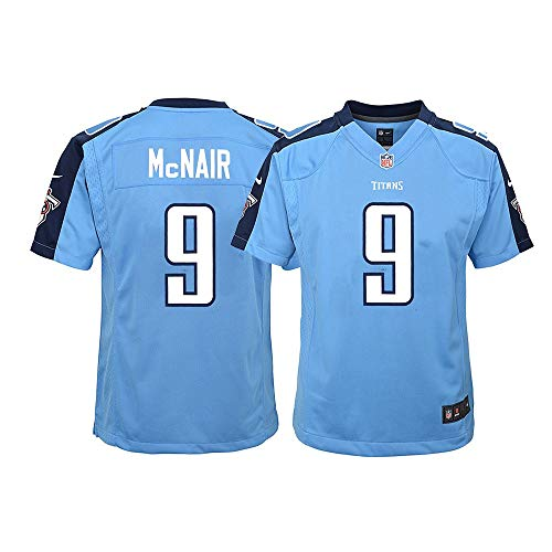 Nike Steve McNair Tennessee Titans NFL Youth Light Blue Alt Game Jersey