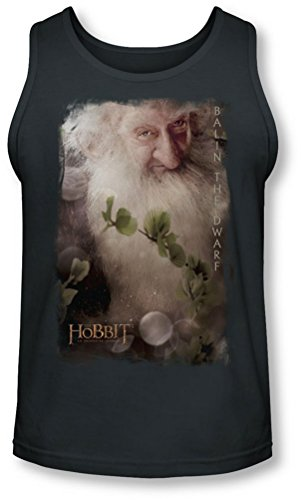 The Hobbit - - Balin Tank-Top pour hommes, Medium, Charcoal