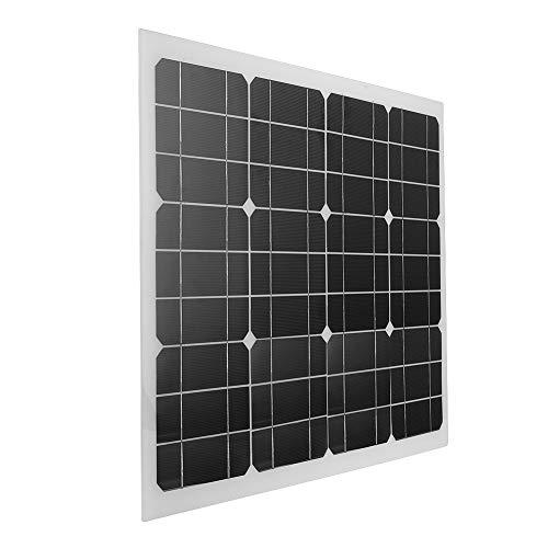 12V buiten zonnepaneel, 40W 30 ° ARC flexibel zeer efficiënt multifunctioneel zonnepaneel voor stacaravans, vissersboten, houten huizen, tenten