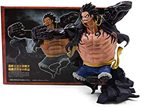 Action & Toy Figures - Styles Anime One Piece Luffy Chopper Dracule Mihawk Going Merry Shanks PVC Action Figure Collectible Model Christmas Gift Toy (Luffy with box)