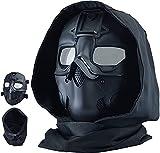 NC Airsoft Masque Tactique Militaire CS De Protection Paintball Double Mode Capot Masque Réglable pour Paintball Tir Cosplay Costume Party