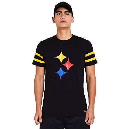 New Era Pittsburgh Steelers NFL Shirt Jersey American Football Fanshirt Trikot Schwarz - M