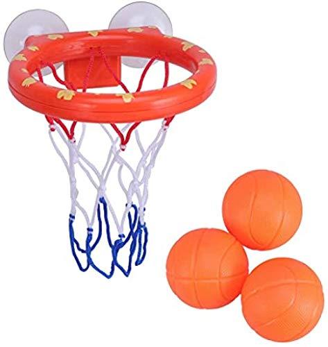 YUY Baño Juego De Baloncesto Ventosa De Agua Caja De Baloncesto Interior Mini Disparos Creativos Juguetes De Baño para Niños Regalos Navideños