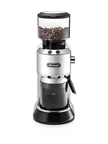 De'Longhi KG 520.M Kaffeemühle, Kunststoff, Silber