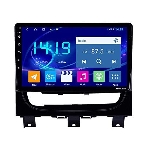 WY-CAR Android 8.1 Unidad Principal De Navegación GPS con Pantalla Táctil HD De 9 Pulgadas para Fiat Strada 2012-2016, FM/Bluetooth/Controles del Volante/Mirror Link/Cámara De Visión Trasera