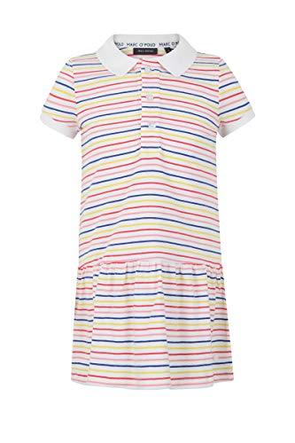 Marc O´Polo Girl Kids Polo Kleid 1/4 Arm Multicolored gestreift (98)