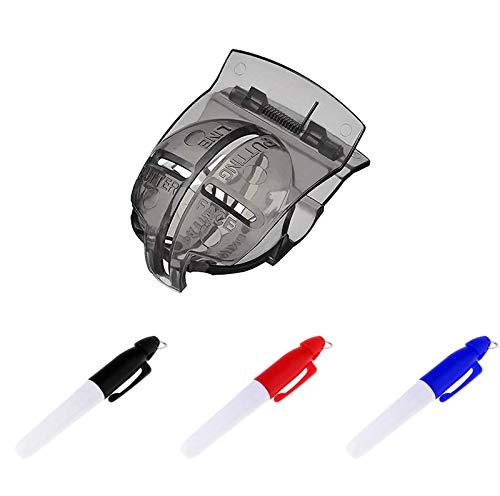 NXX Juego De Marcadores De Línea De Pelota De Golf Golf Ball Line Marker Tool para Línea De Pelota De Golf Herramienta De Alineación De Dibujo Puede Usarse como Regalo para Hombres Y Mujeres.
