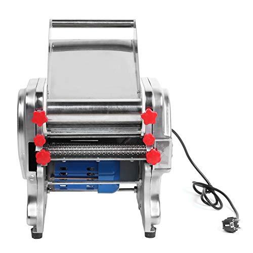 Nudelmaschine, professioneller elektrischer Nudelmaschinenhersteller aus rostfreiem Stahl, humanisierter Cutter-Einstellknopf Nudelmaschine für den gewerblichen Haushalt EU 220V