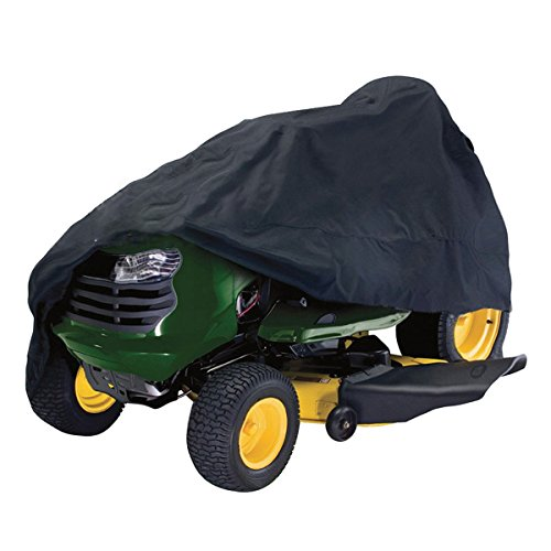 dDanke Housse de tracteur en polyester Oxford imperméable résistant aux UV et à la poussière 245 x 50 x 140 cm (Noir)