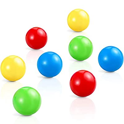 Skylety 8 Pieces Sticky Balls That Gets Stuck o...