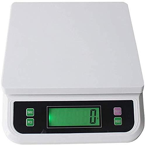 Multifunctionele Elektronische Keukenweegschaal, digitale Schaal van het Voedsel Thuis koken Baking weegschalen 30kg / 1g,White