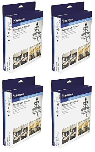 Westinghouse 0101100 Recessed Light Converter - 4 Pack