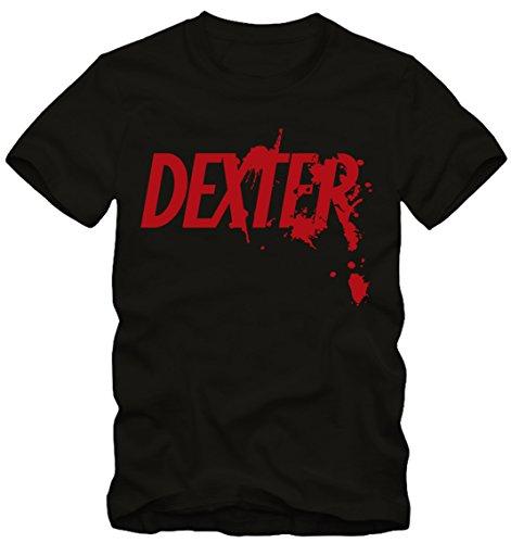 Dexter Uomo Good Bad t-Shirt in Nero