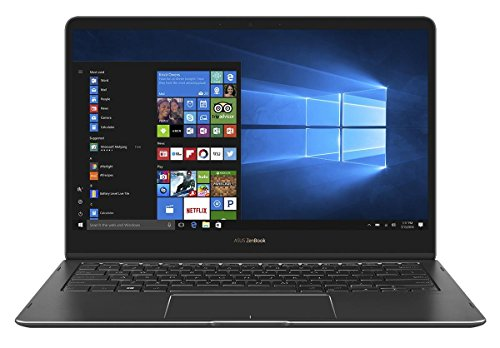 Asus ZenBook Flip UX370UA-C4256T Ultrabook Convertibile, Display da 13.3', Processore i5-8250U, 1.6 GHz, SSD da 256 GB, 8 GB di RAM, Royal Blue [Layout Italiano]