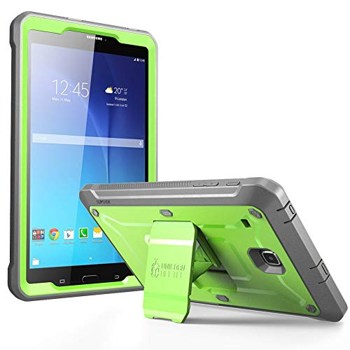 SUPCASE Unicorn Beetle Pro Series Case Designed for Galaxy Tab E 8.0, Full-body Hybrid Protective Case for with Screen Protector Galaxy Tab 8.0 Inch SM-T378/ SM-T375 / SM-T377 Tablet (Green)