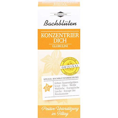 MURNAUERS Bachblüten Konzentrier Dich Globulini, 10 g Globuli