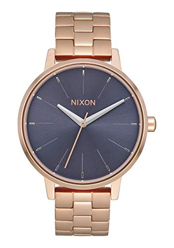 Nixon Unisex Armbanduhr Kensington Rose Gold / Storm