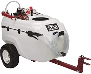 NorthStar Tow-Behind Trailer Boom Broadcast and Spot Sprayer - 31-Gallon Capacity, 2.2 GPM, 12 Volt DC