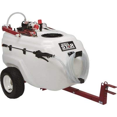 NorthStar Tow-Behind Trailer Boom Broadcast and Spot Sprayer -...