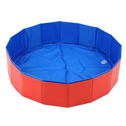 Yalatan Foldable Dog Paddle Pool T'tkatzen Swimming Bath-Teenager Kids Ball Water