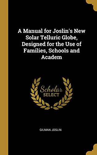 MANUAL FOR JOSLINS NEW SOLAR T