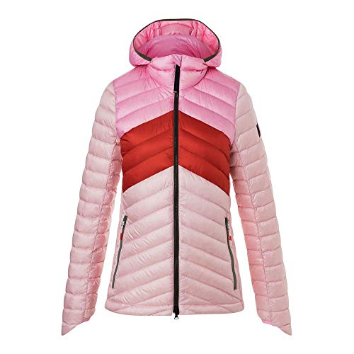 Bogner Fire & Ice Franny - Daunenjacke, Größe_Bekleidung_NR:42, Farbe:pink colorblocking