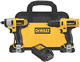 DEWALT 12V Impact Driver and Drill Combo Kit (DCK211S2)