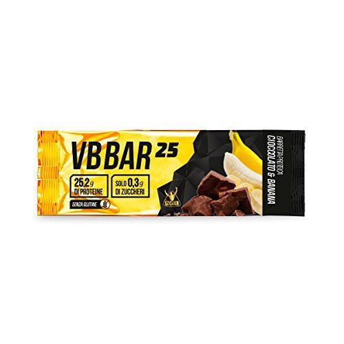 VB Bar 25 Protein Bar NET box 24x50g. gusto Cioccolato Banana