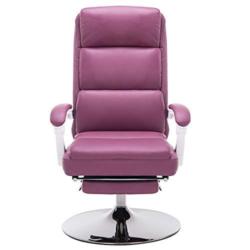 MSG ZY Stoel, kantelbaar, sofa, eenvoudig, verstelbaar, ergonomisch | bureaustoel thuis | loungestoel met massagefunctie door vibratie in grootte, USB-aansluiting