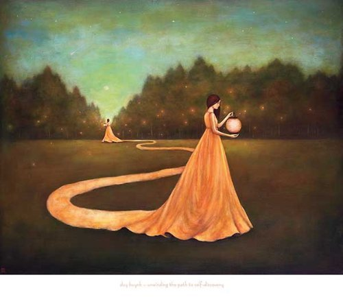 Unwinding the Path to Self-Discovery by Duy Huynh 30x24 Art Print Poster by Picture Peddler
