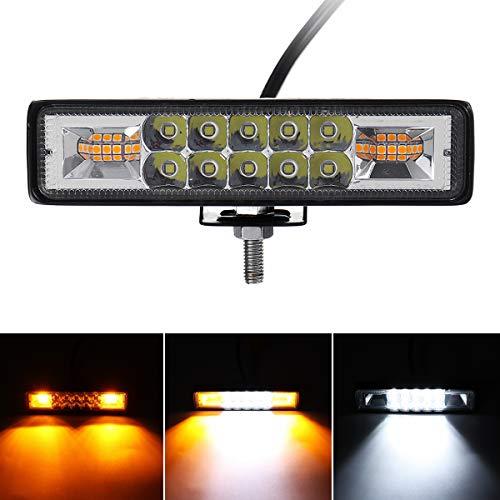 C-Funn werklamp voor koplampen, punt-schijnwerper, 9-32 V, 48 W, 16 LED's, voor vrachtwagens