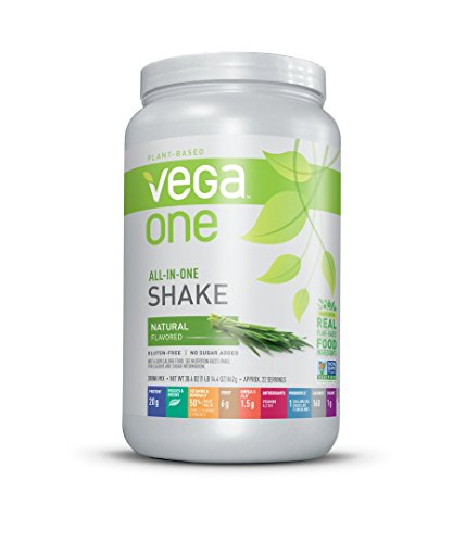 Vega One All-in-One French Vanilla (10 Servings) - Plant Based...