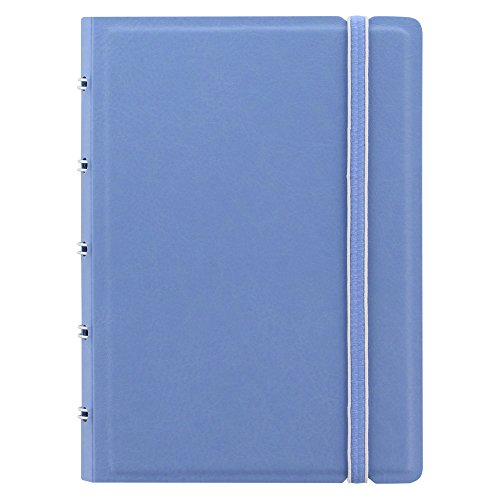 Filofax 115063 Notizbuch, nachfüllbar, Pastellfarben, Vista Blau