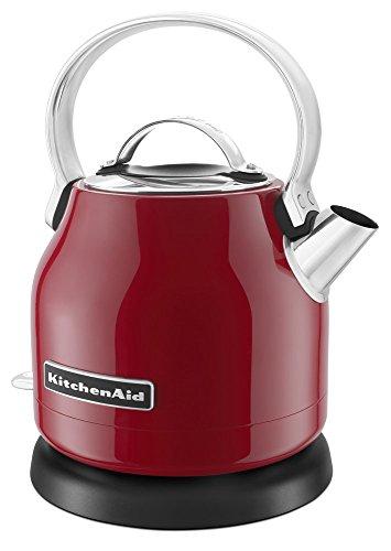 KitchenAid KEK1222ER 1.25-Liter Electric Kettle - Empire Red (Renewed)