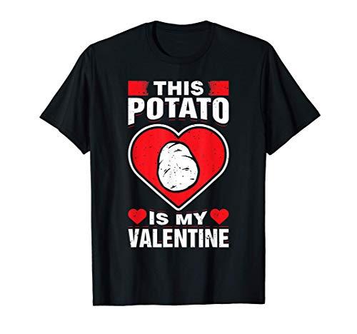 Esta patata es My Valentine con almidón de la planta regalo Camiseta
