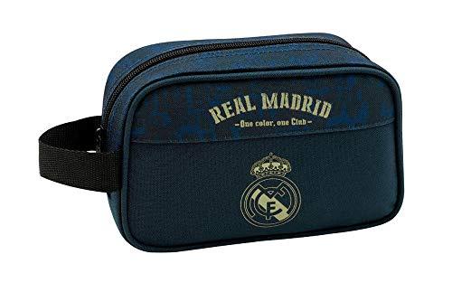 Real Madrid CF Equipaje para niños, color azul marino, única (811934234)