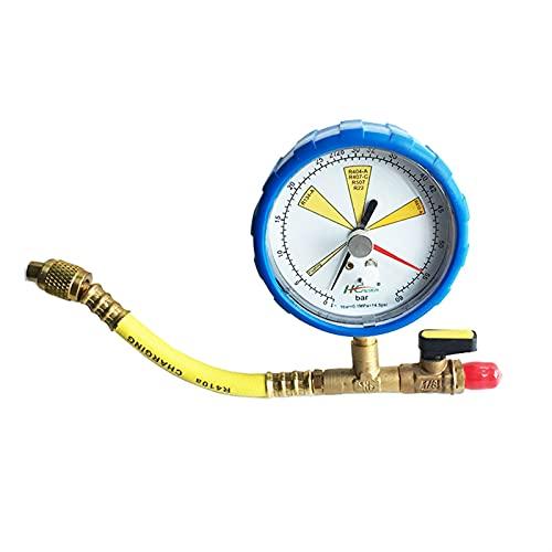 Detector de fugas de gas Manómetro for nitrógeno Mantenimiento de aire acondicionado Refrigeración Presión de nitrógeno Prueba de prueba Tabla de prueba de presión Detector de fugas de refrigerante