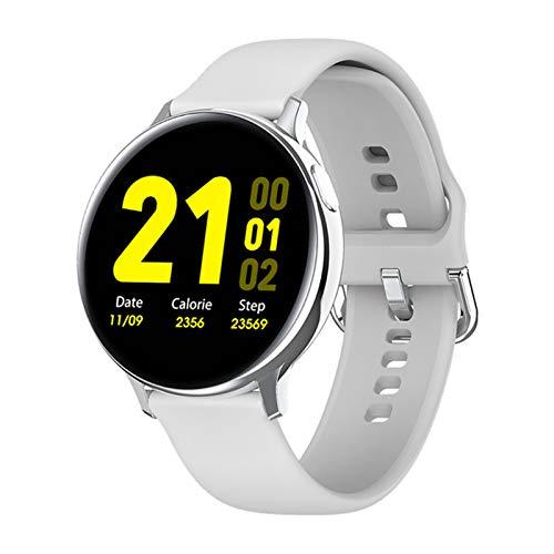 LHL Adecuado para Android iOS Fitness S2 Smart Watch Ritmo Cardíaco Sphygmomanometer IP68 Impermeable Mujeres Deportes Smart Watch,C