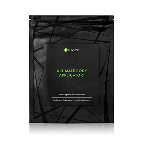 It Works : Ultimate Body Applicator Body Contouring Wrap Net Content : 4 Applications