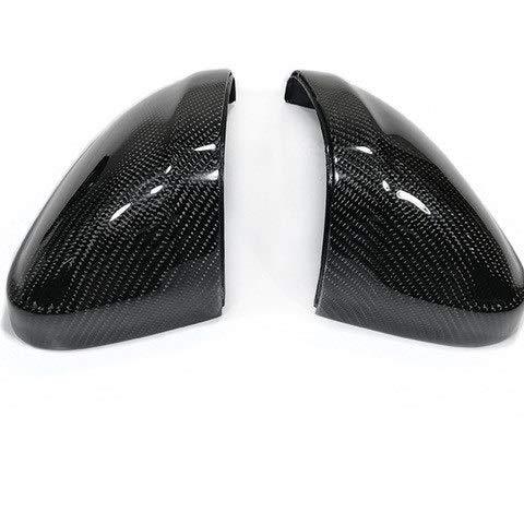 UV Pulido De Reemplazo De Fibra Cubiertas De Espejos Retrovisores De Carbono Real Con Clips Lado Carcasas De Los Retrovisores Fit For Audi A4 A5 B9 Cap Cubierta Del Espejo Cubiertas espejos retrovisor
