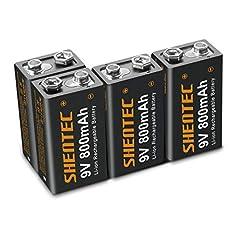 4 Stück Shentec 800mAh Li-ion