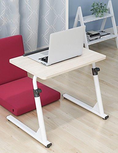 Table d'ordinateur de Chevet Table Table de Bureau Pliable Hauteur réglable (4 Couleurs, 2 Styles en Option) (Couleur : B, Taille : L*W*H: 60 * 40 * 63cm)
